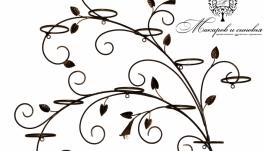 Подставка для цветов Каллы на 10 колец