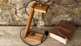 Прикроватная Настольная Ретро Лампа Эдисона Для Дома Светильник Loft Design