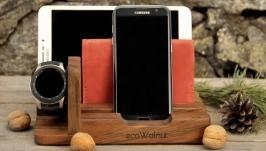 Подставка Настольный Органайзер Для Samsung Телефона Самсунг Часов Gear