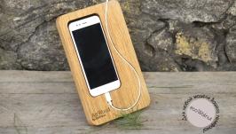 Деревянная Подставка Для Телефона Смартфона iPhone Підставка Для Телефона