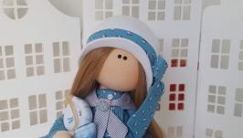 морская прогулка текстильная интерьерная кукла
