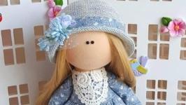 Ася интерьерная текстильная кукла