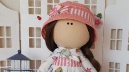Морская интерьерная текстильная кукла