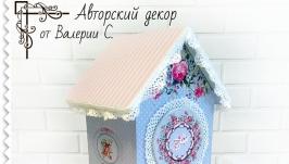Домик чайный ′Розы и кружева′
