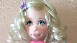 Кукла авторская текстильная Наташа