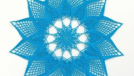 Серветка відтінки синього 4