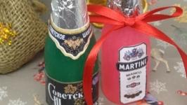 «Шампанское и Мартини» - подарочное мыло ручной работы