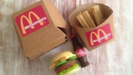 Набор мыла Макдональдс 3 в 1