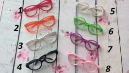 Очки пластиковые цветные