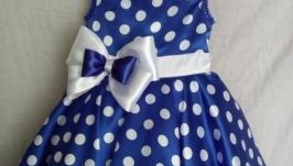 детское платье в стиле ретро ′ СТИЛЯГИ′ для юных модниц