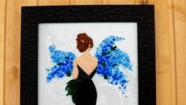 Картина із кольорового скла ′Мить′