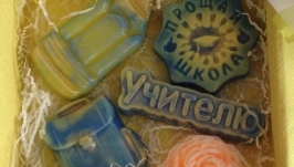 Набор подарочного крафтового мыла