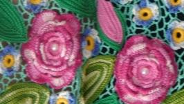 Блузка ′Весенние цветы′