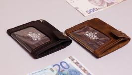 Бумажник для ID-документов.- Страж- Обложка для прав,паспорта,пропуска.