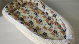 Гнездышко (кокон, бебинест, дорожная кроватка) Bears