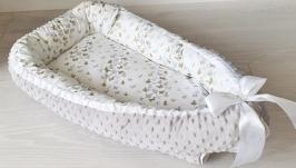 Кокон для ребенка (гнездышко, бебинест) Butterflies
