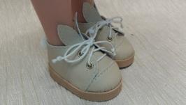 Ботинки-зайчики для куклы паола Рэйна