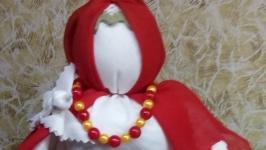 Славянская народная кукла-оберег Птица Радость