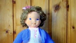 Кукла в вальдорфской технике. Оленька.