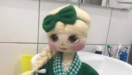 Кукла туалетница.