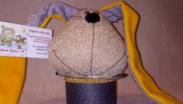 фокус-покус винтаж, кролик декоративный, игрушка-талисман,фен-шуй,эзотерика