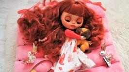 Blythe Кукла Блайз Custom Синопа (индей. Лиса)