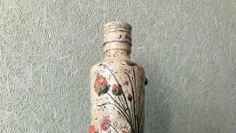Бутылка интерьерная ′Нежность разнотравья′