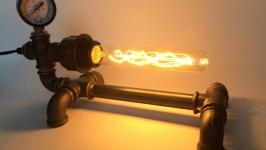 Светильник в стиле LoftIndustrial из водопроводных труб Steampunk Art