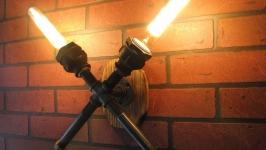 Настенный светильник в стиле ЛофтСтимпанкИндастриал