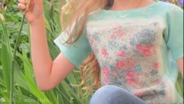 Топ на дівчинку 8-10 років ′Квітковий бум′