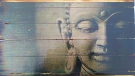 Картина на досках ′Будда′