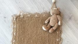 Прикроватный коврик с кружевами