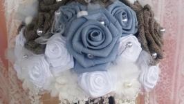 Букет невесты Голубая лагуна