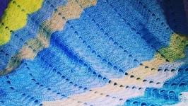 Плед для детской коляски ′Волна′
