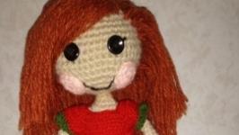 вязаная куколка лалалупси