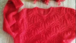 Розкішний ажурний джемпер з кідмохеру Камелот
