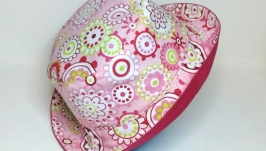 Панамка для девочки, handmade