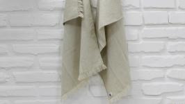 Лляний рушник з додаванням бавовни