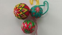 Темари - японский шар.