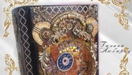 Шкатулка-книга для украшений Серебряный век