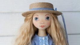 Текстильная кукла 38 см.