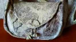 Валяна сумочка