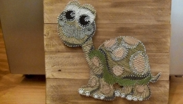 Картина в детскую ′Черепаха′