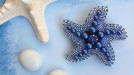 Брошь Королевская Морская звезда