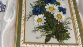 Картина ′Милые сердцу цветы.′