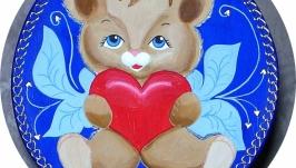 Подвеска настенная ′Любящее сердце′