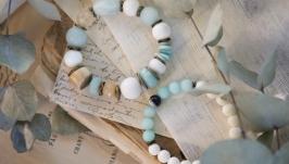 Комплект браслетов ′Мятный сорбет′