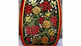 Доска декоративная ′Хохломские узоры′