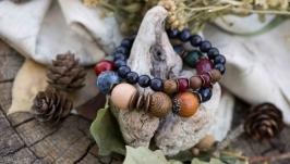 Комплект браслетов ′Таежные ягоды′