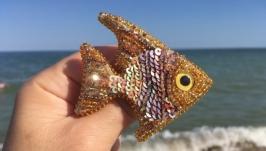 Брошь ′Рыбка′